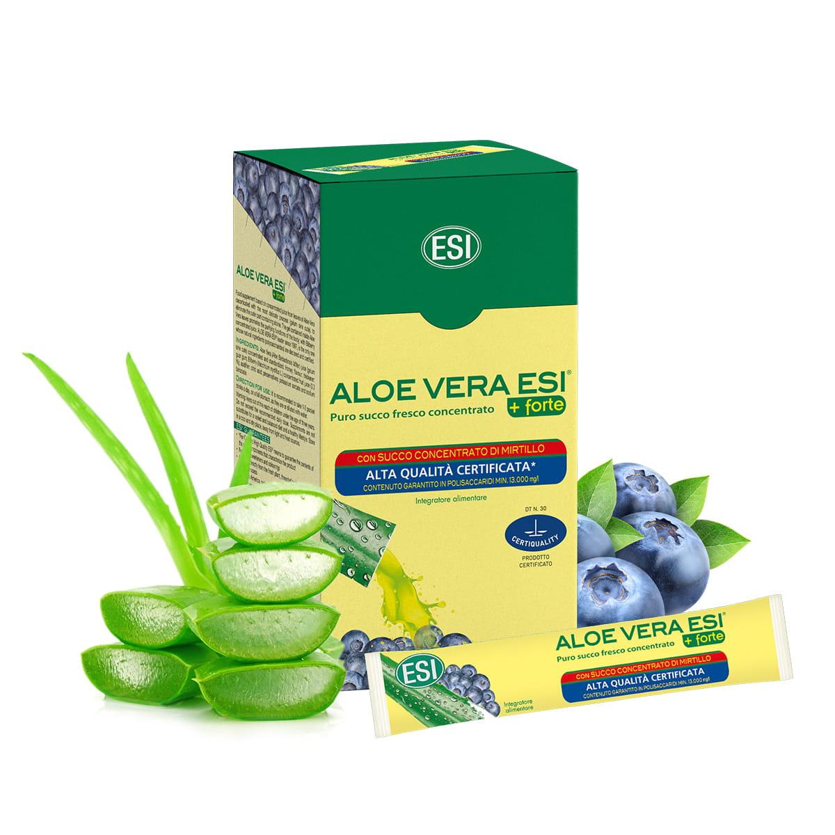 Aloe Vera Forte 24 pocket drink