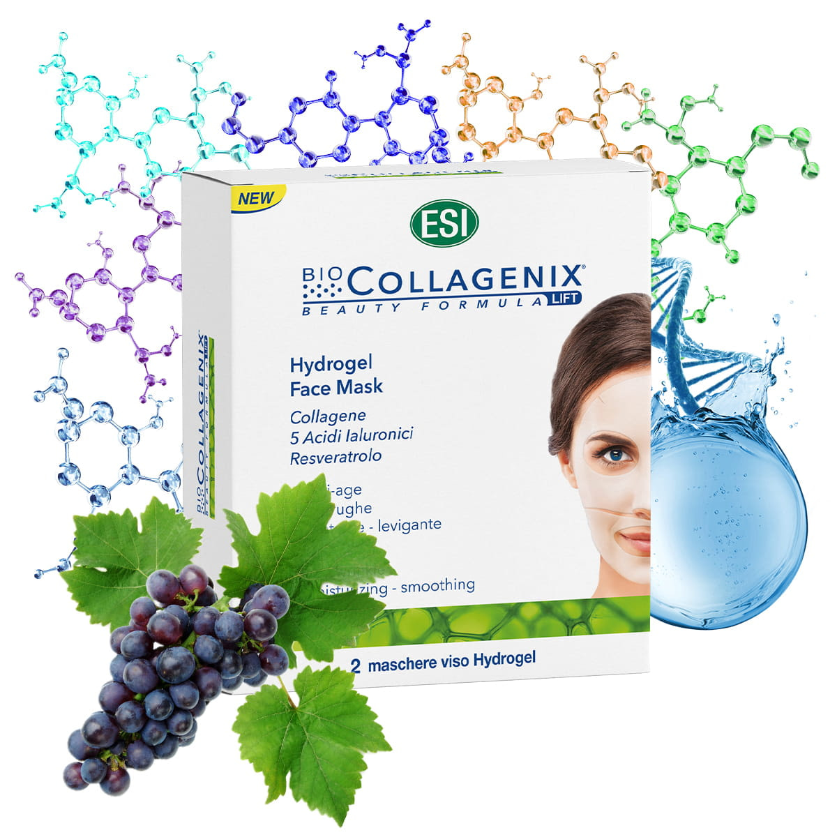 BioCollagenix Face Mask – 2 maski kolagenowe